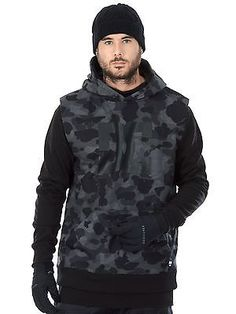 Dc #camouflage #lodge grey #dryden snowboarding hoody,  View more on the LINK: http://www.zeppy.io/product/gb/2/302061063863/