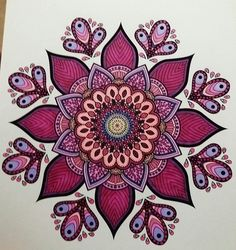 ColorIt Mandalas Volume 2 Colorist: Lisa Popovich‏‎ #adultcoloring #coloringforadults #mandalas #mandalastocolor Mandalas Painting, Mandalas Drawing, Dot Painting, Zentangles, Body Art Tattoos, New Tattoos, Coloring Books, Coloring Pages, Mandala Doodle