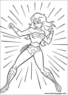 print wonder woman 18 coloring pages