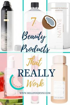 7 Beauty products that really work, millennial mom, beauty tips for mothers, tips for finding quality beauty products #mombeautytips #products #millennialmom #skincare #hairproducts #naturaldeodorant #HomemadeBeautyTips #EverydayBeautyRoutine Everyday Beauty Routine, Skin Care Routine For 20s, Beauty Routines, Skin Routine, Beauty Hacks For Teens, Beauty Ideas, Natural Beauty Remedies, Beauty Soap, Natural Deodorant