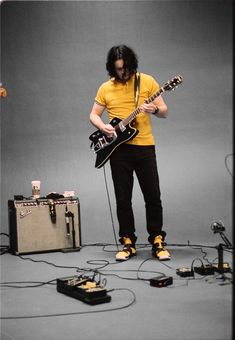 The White Stripes, Jack White, Falling In Love, Handsome, Punk, Purple, Boys, Third, Film