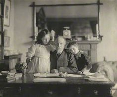F.W.H. Myers and his children.