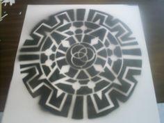 Aztec Calendar, Mexican Designs, Illustrations