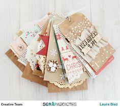 Advent Calendar by lamardescrap at Christmas Mini Albums, Christmas Journal, Christmas Scrapbook, Christmas Minis, Christmas Crafts, Xmas, Mini Albums Scrap, Mini Scrapbook Albums, Scrapbook Journal