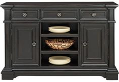 Eric Church Highway To Home Arrow Ridge Ebony Server . $599.99. 58W x 18D x 38H. Find affordable Servers for your home that will complement the rest of your furniture.