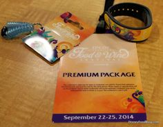 Review of the Epcot Food & Wine Festival Premium Package, and Food and Wine Festival Late Nights LIVE! Event #EpcotFW14 #WDW