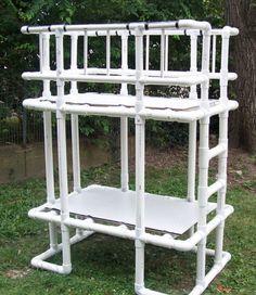 Pipe Dreams 15 Unexpected Projects Using PVC & PVC Pipe Furniture Plans Free | ... pipe pvc trellis trellis pvc it ...
