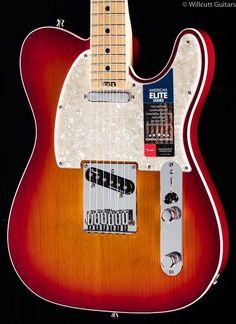 Fender American Elite Telecaster Aged Cherry Burst Maple (147)