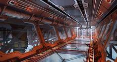 ArtStation - Titanfall 2 Interior Concepts, Danny Gardner