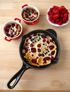 Cuisine : Clafoutis on Pinterest | Cherry Clafoutis, Cherries and ...