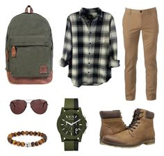 """""""Adventure"""" by giilerme on Polyvore featuring Mahi, Urban Pipeline, Unlisted by Kenneth Cole, Rails, Burberry, Armani Exchange, Simon Carter, men's fashion e menswear"""
