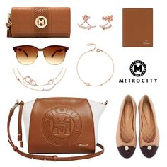 Warm and sophisticated hues for any occasion #Metrocity #MetrocityWorld #Earrings #Bracelets #Jewelry #Accessories #Flats #Shoes #Fashion #Style #Ootd
