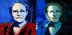 Andy Warhol's Mother Julia