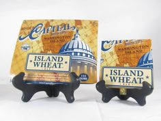 Island Wheat Beer Coaster
