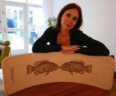 Pyrographic Artist Daniëlla Baarz