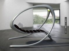 Nice - Futuristic Furniture - Futuristic concept lounge chair with built-in TV. Concepto de silla Futurista con TV incorporada. Si tuviera tambin un ps3, no me parara nunca ms. | Check out more ideas for Futuristic Furniture at DECOPINS.COM | #futuristicfurniture #furniture #masterbathrooms #bedroom #bedrooms #bathroom #bathrooms #homedecor #beds #interiordesign #home #homedecoration #design