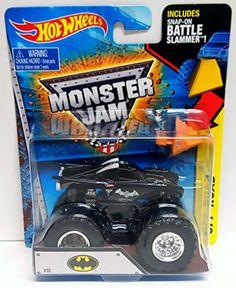 Hot Wheels Monster Jam 1:64 DC Comics Batman Battler Slammer Truck - New 2015 #32 @ niftywarehouse.com
