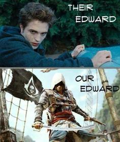 Edward Assasin Creed vs Edward Twilight