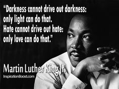 Martin Luther King Jr quote in Quotes & other things