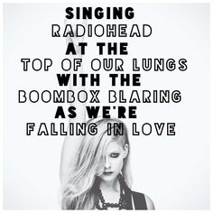 Who says they aren't famous? Definitely not her. Radiohead are big enough that they can invade pop music without writing a song. Yups.