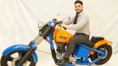 TE Connectivity 3D-prints fully functional electric motorcycle