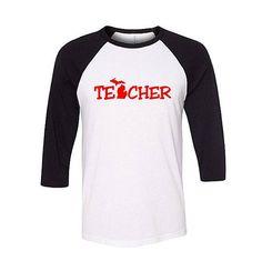 Michigan Teacher Shirt, Baseball Raglan, teacher gift