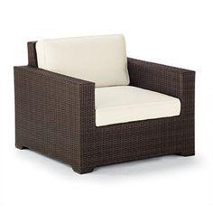 Palermo Lounge Chair Cushions - Sailcloth Sailor Rain, Custom Sunbrella Rain - Frontgate