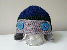 chłopięca czapka na szydełku, boys cap on crochet, video tutorial Crochet Videos, Crochet Hats, Beanie, Cap, Youtube, Video Tutorials, Boys, Baseball Hat, Beanies