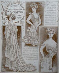 Abiti Antichi - Storia della Moda 1901-1909