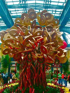 The tree of golden coins. A representation of abundance.