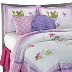 Lily Frog Quilt Set