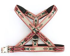 Native dog harness S to XL . Woven no choke adjustable