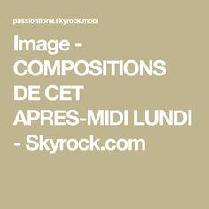 Image - COMPOSITIONS DE CET APRES-MIDI LUNDI - Skyrock.com