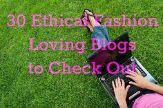 Ethical fashion blogs