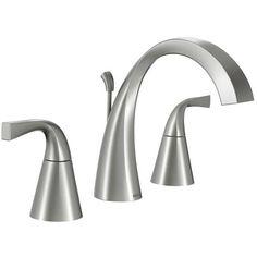 Single Sink Bathroom Vanity, Bathroom Sink Faucets, Shower Faucet, Bathroom Fixtures, Concrete Bathroom, Shower Tiles, Lowes Bathroom, Bronze Bathroom, Plumbing Fixtures