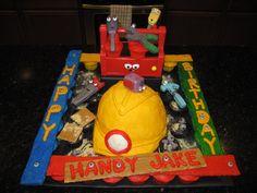 Handy Manny cupcake creation
