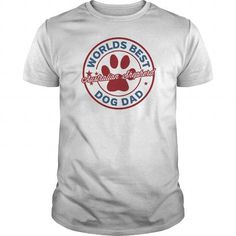 Australian Shepherd Worlds Best Dog Dad ShirtLIMITED TIME ONLY. ORDER NOW if you like, Item Not Sold Anywhere Else. Amazing for you or gift for your family members and your friends. Thank you! #world #kidney #shirts