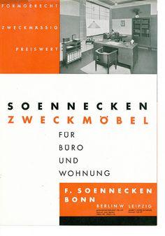 German Furniture Brochure, circa 1935
