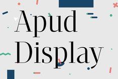 Apud Display By DSType on YouWorkForThem.
