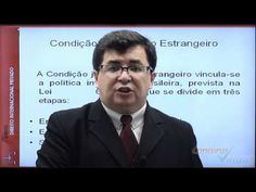 Vídeo 01 - Estatuto do Estrangeiro - Polícia Federal - Prof. Vitor Marcelo