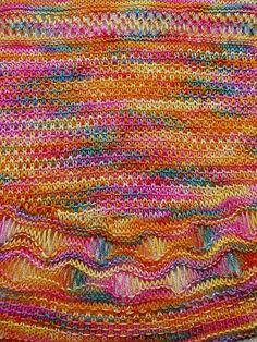Iris Goddess of Rainbow Shawl, Natascha Vogele