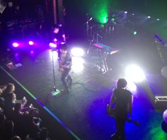 Gary Numan performing 2014