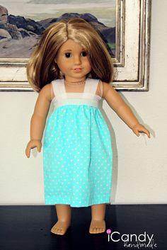 "American Girl Doll ""Pillowcase"" Nightgown"