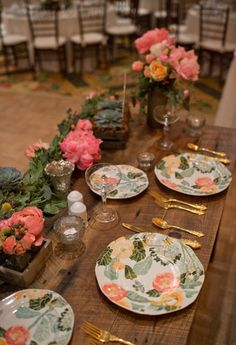 Have special china or glassware, perhaps ones that will be used in your home at the sweetheart table