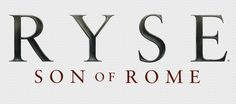 Beautiful Ryse: Son of Rome artwork uploaded by IGC - Logo: Dark Ryse Son Of Rome, Video Game Logos, Rome History, Game Design, Sons, Branding, Letters, Artwork, Gaming