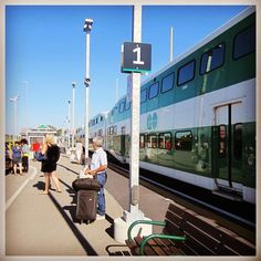 Get on the Go to Barrie! @metrolinx #visitbarrie #getonthego #getoutandplay #barrie #gotransit tourismbarrie's photo on Instagram