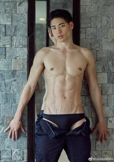 Asian Male Model Nude