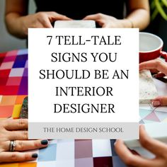 Have you ever had people come into your home and ask you whether you are interior designer? I know this happened to me a lot, but it still took a long time for the penny to drop, to realise that this is something I should be doing with my life!   Check out this week's blog post to see whether you too should be an interior designer.