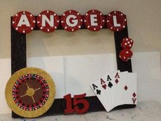 Party frame, poker party, casino night party, las vegas party, casino theme p Las Vegas Party, Vegas Theme, Casino Night Party, Casino Party Decorations, Casino Theme Parties, Party Themes, Vegas Birthday, 90th Birthday Parties, Fète Casino