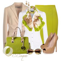 A fashion look from December 2013 featuring white shirt, pencil skirts and peep-toe pumps. Browse and shop related looks. I Love Fashion, Fashion 2017, Couture Fashion, Passion For Fashion, Fashion Outfits, Womens Fashion, Classy Outfits, Pretty Outfits, Beautiful Outfits